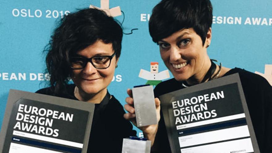 Un estudio de dos exalumnas de la UJI, premiado en los Graphis de Nueva York y en los European Design Awards