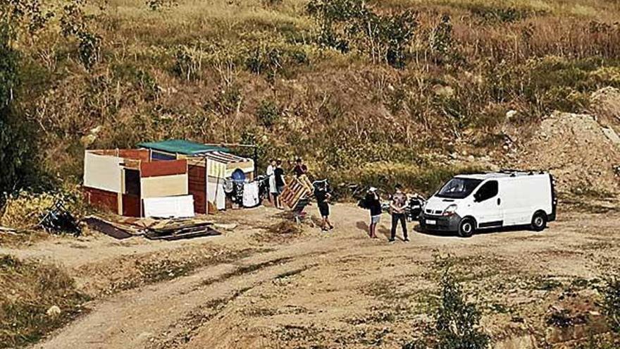 Los vecinos de es Fortí alertan de nuevos asentamientos ilegales en sa Riera