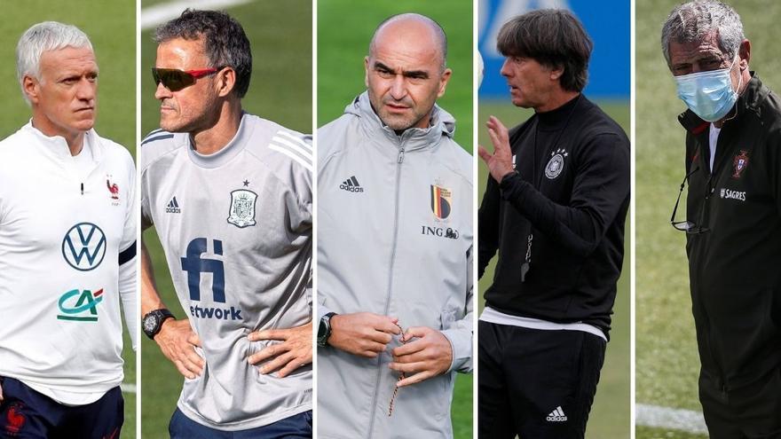 Los 5 entrenadores a seguir en la Eurocopa 2021