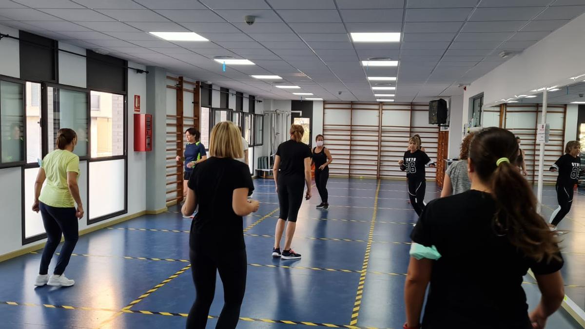 Una de las actividades de las escuelas deportivas municipales de Elda