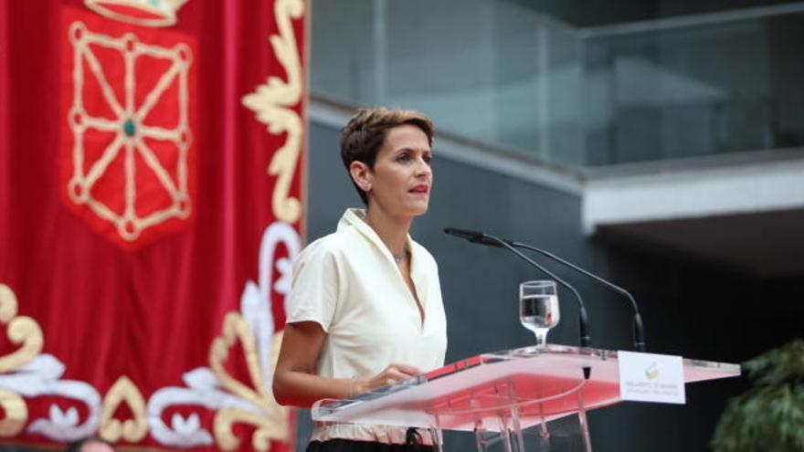Chivite toma posesión como presidenta de Navarra