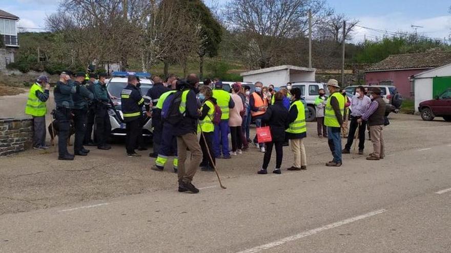 VÍDEO | Así se organiza el operativo de búsqueda del hombre desaparecido en Figueruela de Arriba: 12 días sin pistas