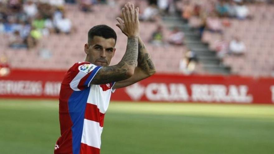 El Hércules ficha al lateral zurdo Álex Martínez para competir con Nani