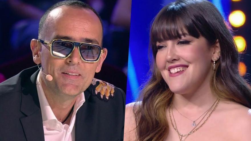 """El reencuentro de Risto Mejide y Alba Lucía ('OT') en 'Got Talent': """"Si no fuera por tu talento, yo no estaría aquí"""""""