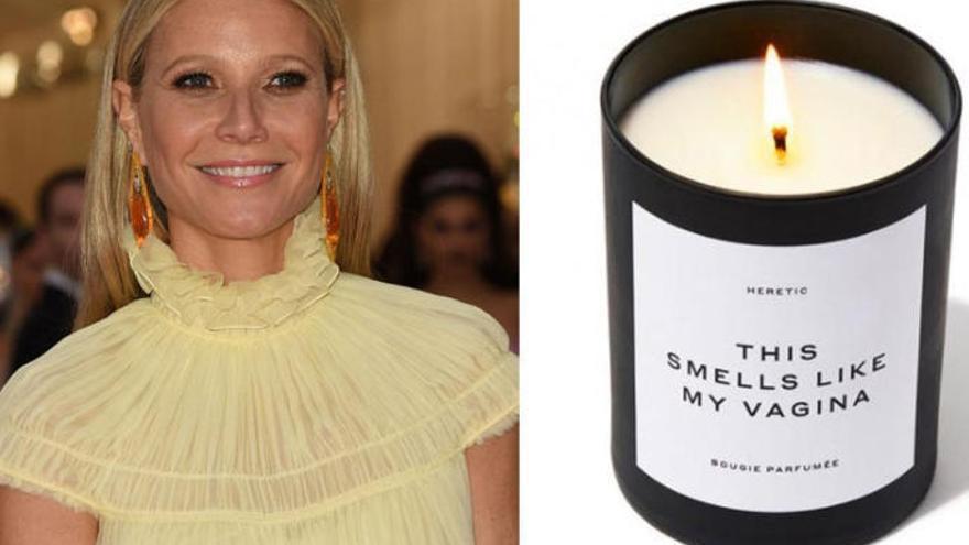 Las velas del olor a vagina de Gwyneth Paltrow, agotadas