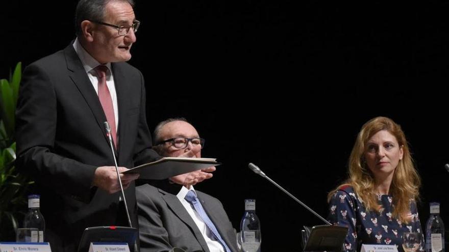 El rector reivindica una nueva financiación para que la UJI no se colapse