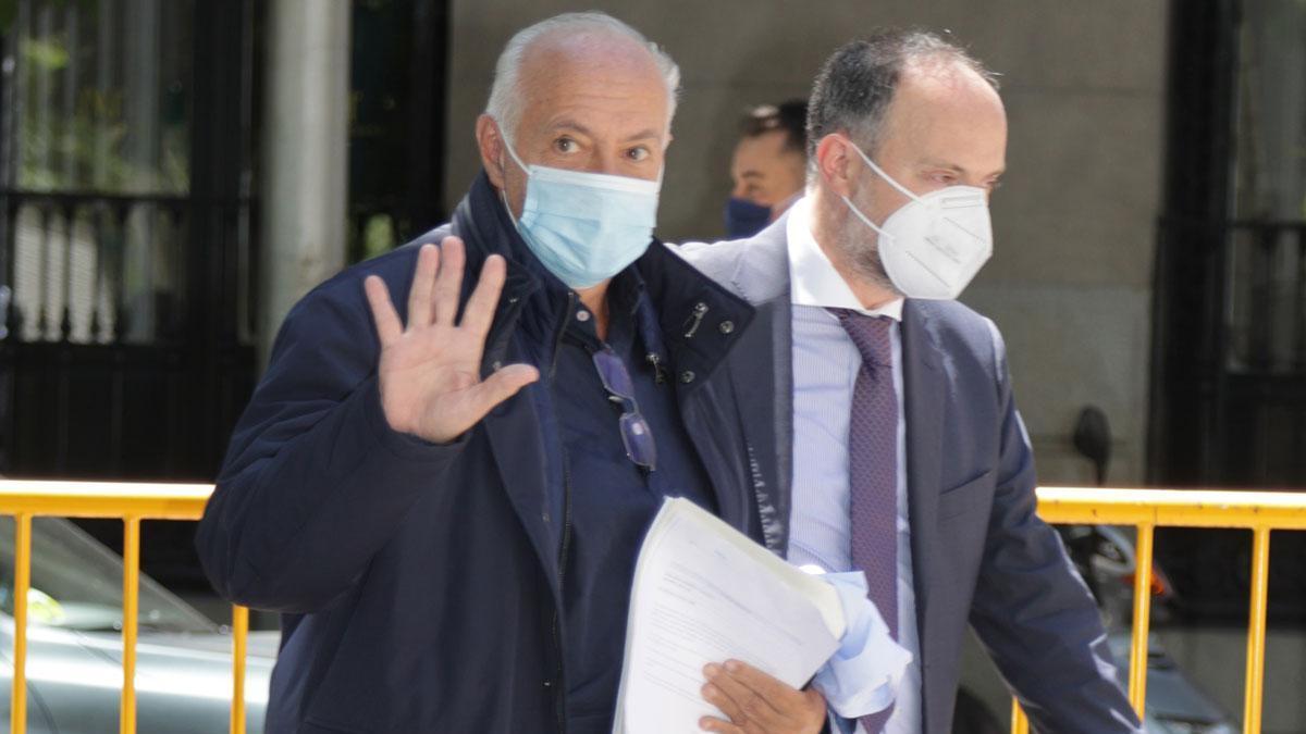 José Luis Moreno, a su salida de los Juzgados.