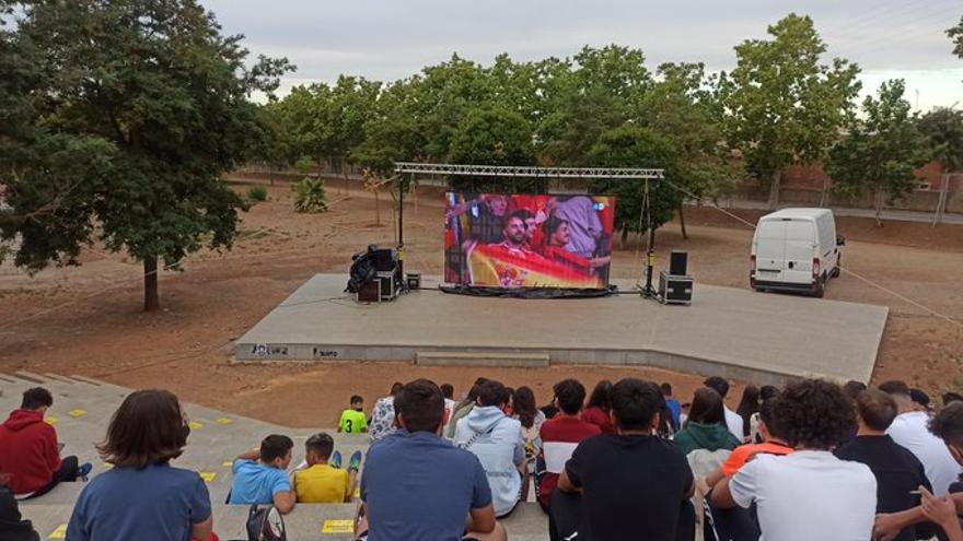 El parque de Las Mercedes acoge la semana de la juventud