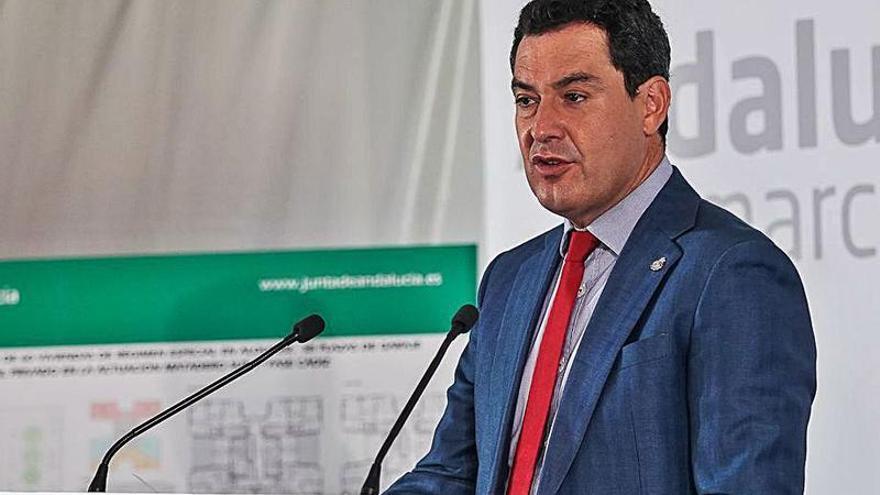 Juanma Moreno insiste en agotar la legislatura aun sin presupuestos