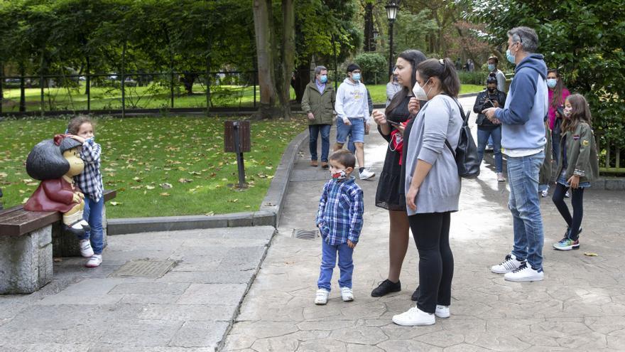 El turismo nacional deja en septiembre en Oviedo cifras récord de antes del covid