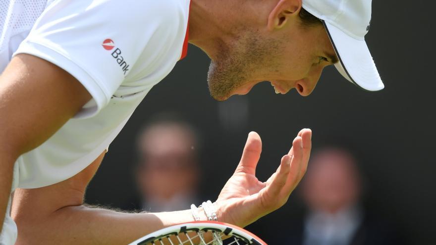 Thiem tampoco estará en Wimbledon