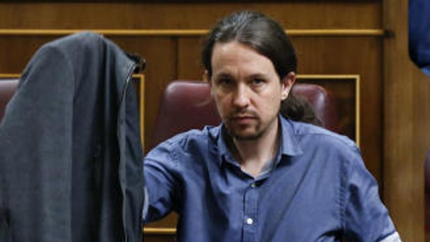 Unidos Podemos, absents al minut de silenci del Congrés
