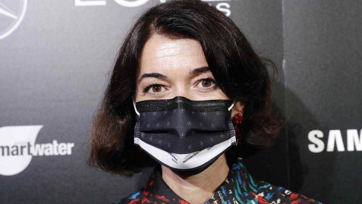 Nuria de Miguel, directora de la Mercedes-Benz Fashion Week Madrid.
