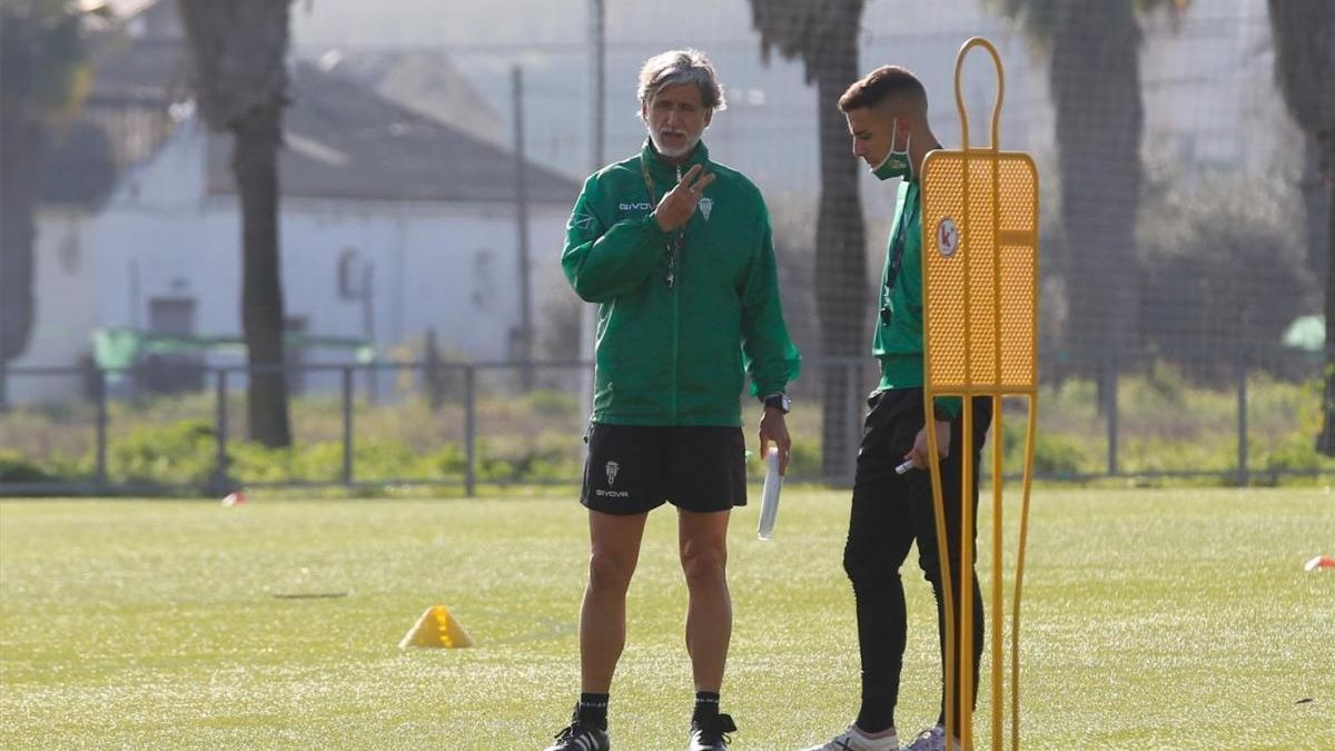 El Córdoba CF afronta tres entrenamientos antes del fin de semana de descanso