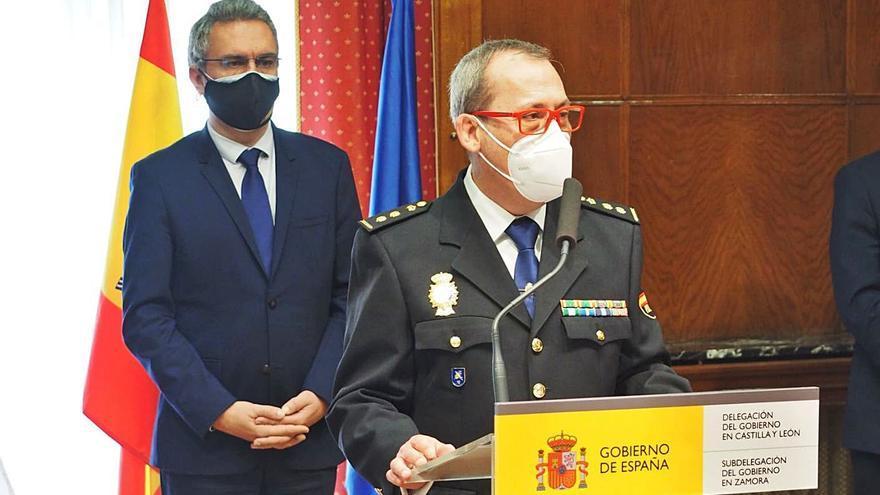 """El nuevo comisario de Zamora, Guillermo Vara, se compromete a mantener la baja criminalidad en una de las capitales """"más seguras del país"""""""