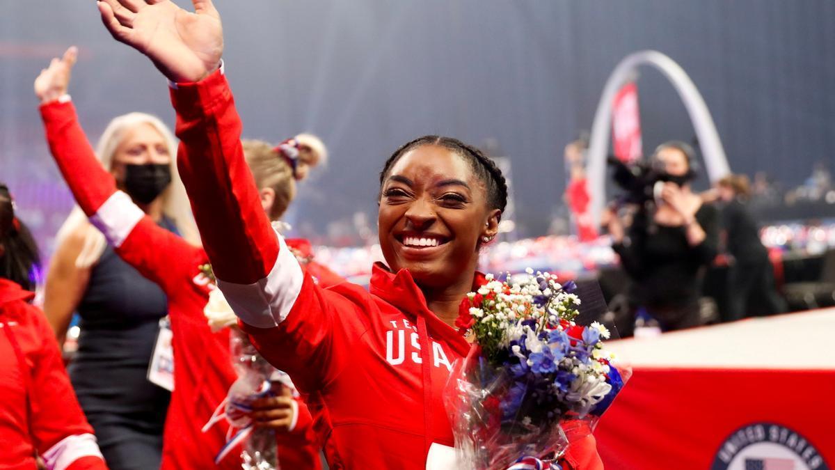 Simone Biles aspira de nuevo a ser una de las grandes estrellas de los Juegos.