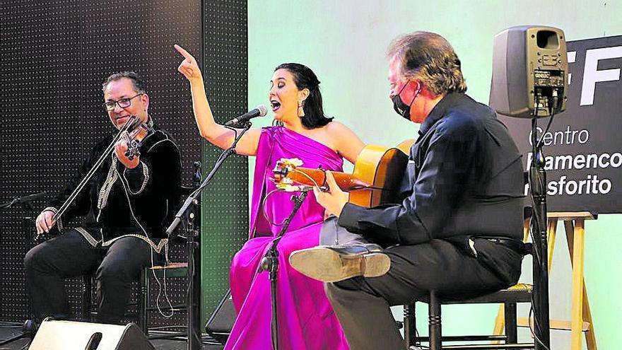 La cantaora Laura Vital actúa este sábado en La Rambla