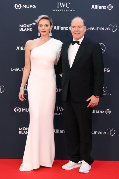 El príncipe Alberto II de Mónaco y la princesa Charlene.
