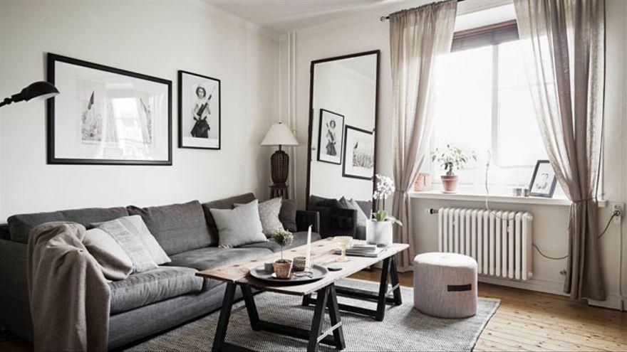 'Amplía' tu pequeño salón con estas originales ideas