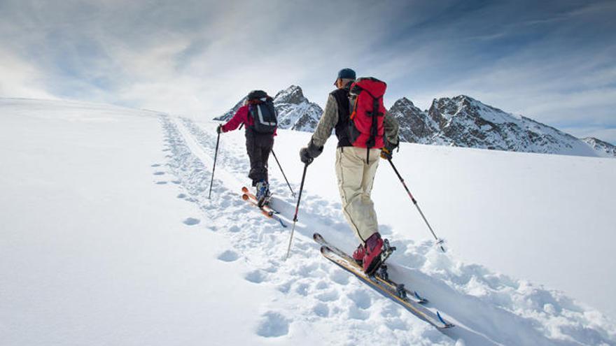 Com planificar una sortida amb esquís de muntanya
