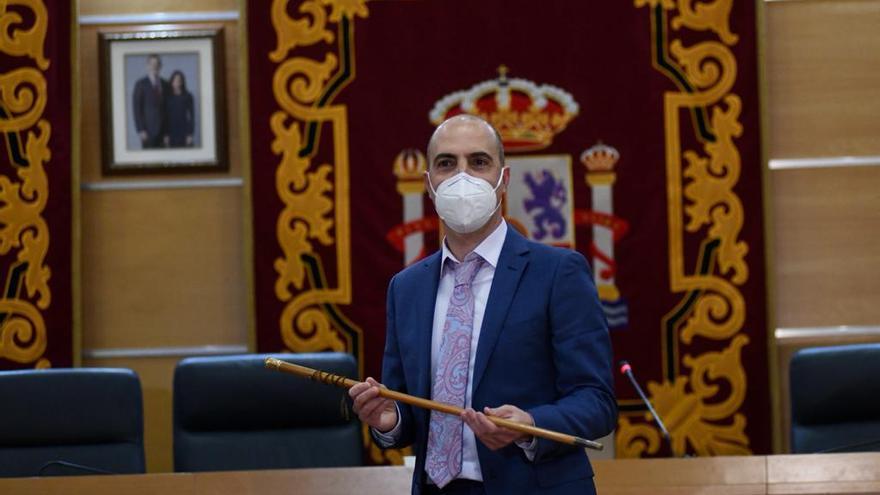 Eliseo García, investido nuevo alcalde de Molina de Segura