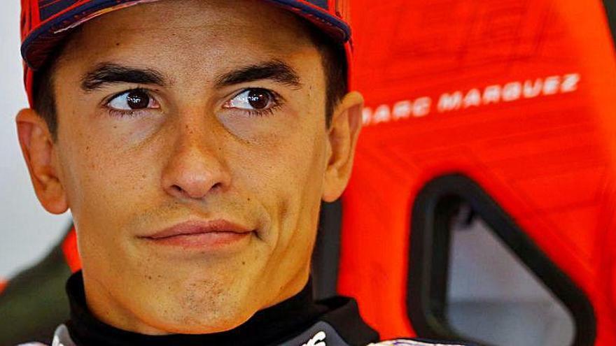 Marc Márquez revela lo que le pasa este año con la Honda