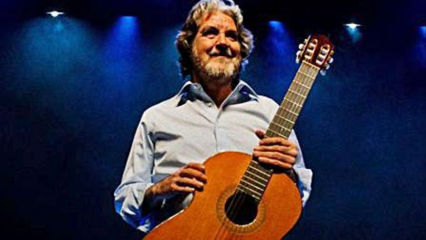 La guitarra flamenca de Rafael Riqueni suena en el ADDA