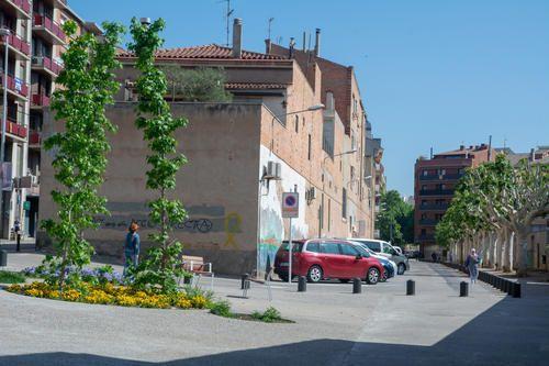 El pàrquing Saclosa es va reordenar per convertir-lo en zona blava.