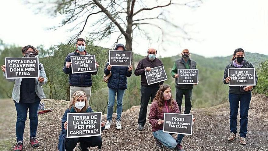 Alertan del daño al territorio de Mallorca con el 'boom' de las canteras