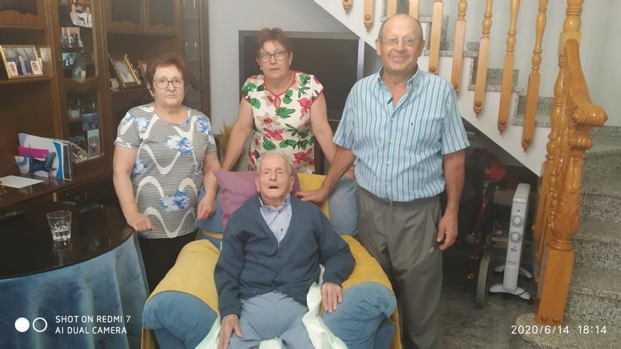 Fallece 'el abuelo de Jumilla' a los 102 años