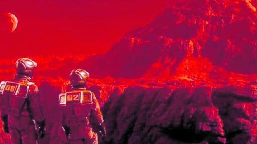 Viaje a Marte a través de la música, el cine  y la cultura pop
