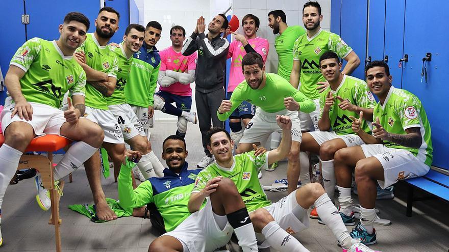 El Palma Futsal remonta a lo grande (2-5)