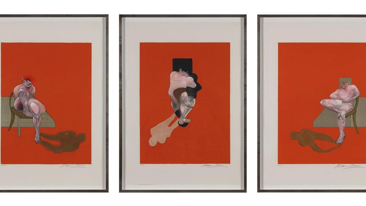 Una de las obras de Francis Bacon que se verá en la Fundación Bancaja.