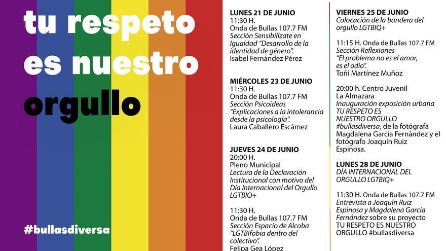 Bullas celebra el Día Internacional del Orgullo con una exposición urbana