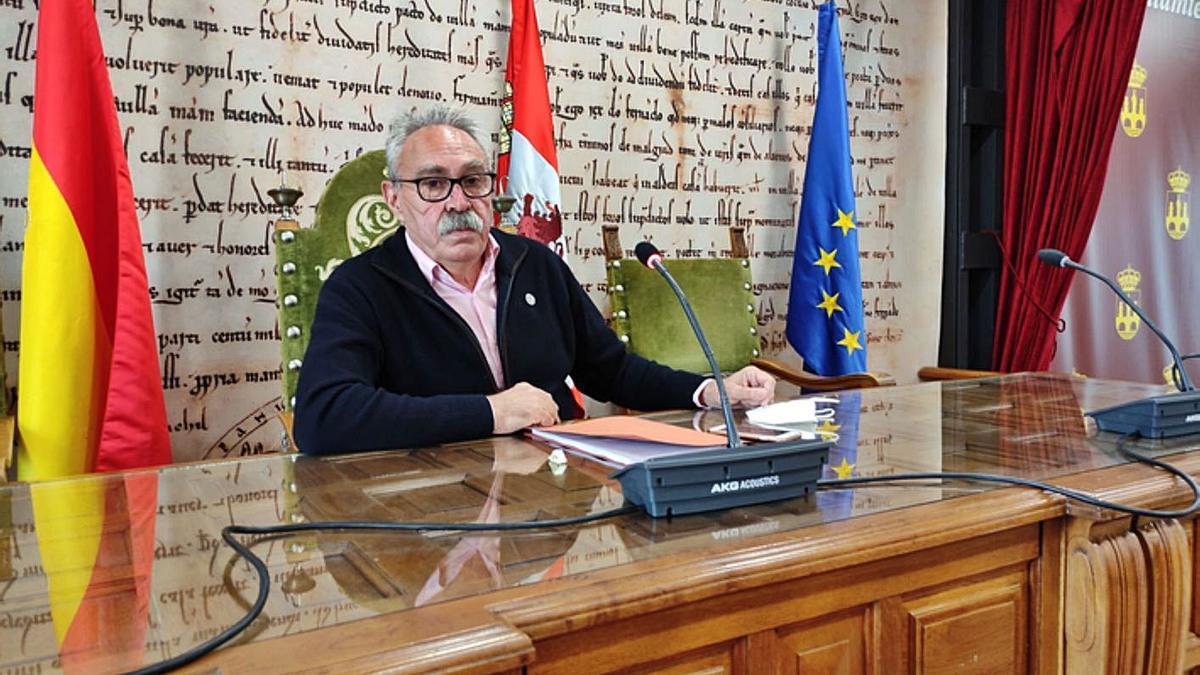 Concejal de Personal, José Mariño.   E. P.