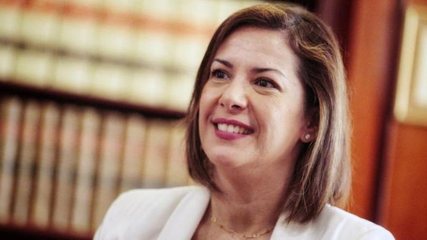 Evelyn Alonso, primera concejala no adscrita del Ayuntamiento de Santa Cruz de Tenerife