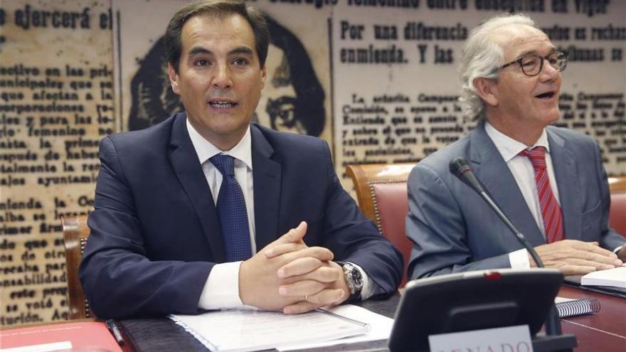 """Nieto, """"absolutamente tranquilo"""" por su actuación al frente del PP de Córboba"""