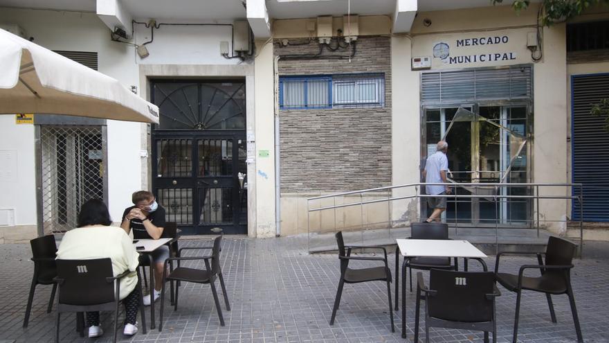 Desde hoy el mercado de Ciudad Jardín permanecerá cerrado por las obras de reforma de aire acondicionado
