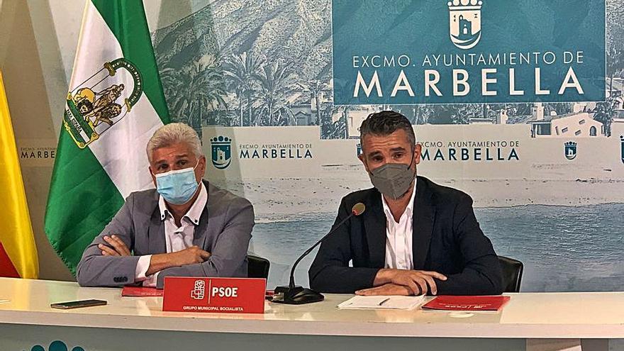 El PSOE de Marbella exige la vuelta a la presencialidad en la sanidad