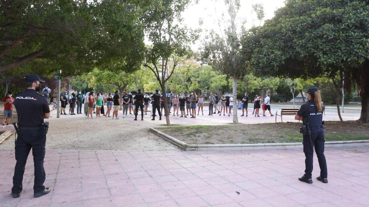 Tensión en Alicante por los inmigrantes enfermos de covid-19 trasladados al hospital