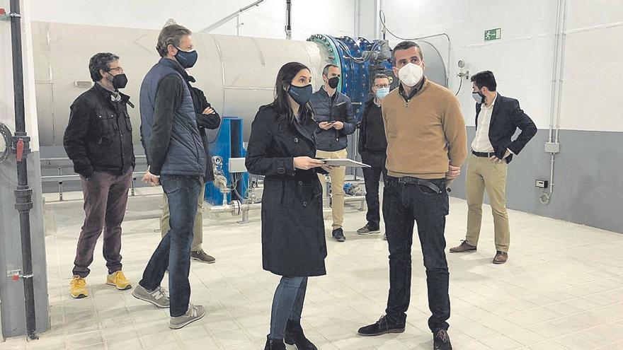 Un sistema elimina el sabor y olor del agua de la planta de Picassent
