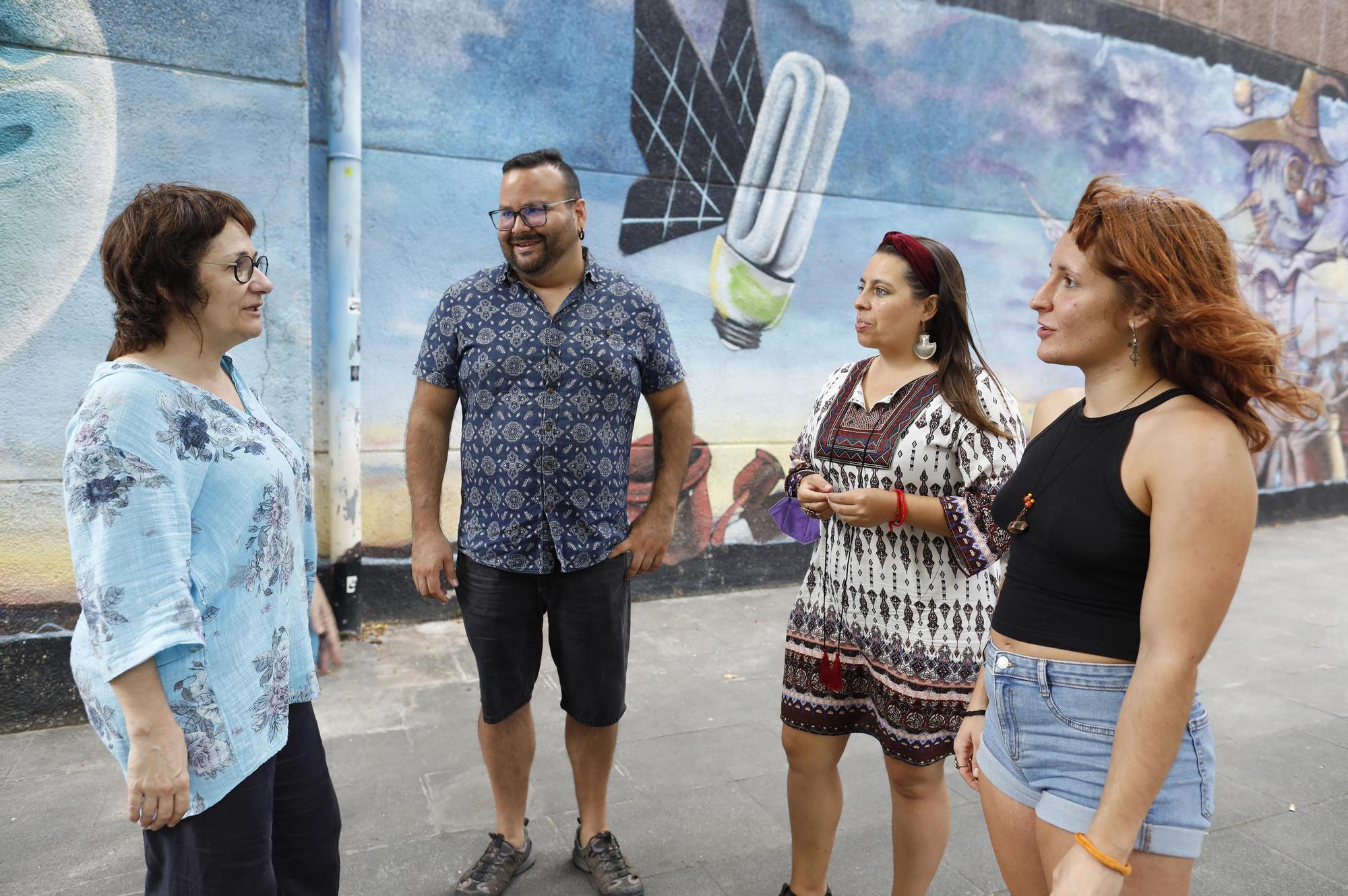 Teixint vincles per sostenir els que viuen al carrer a Girona