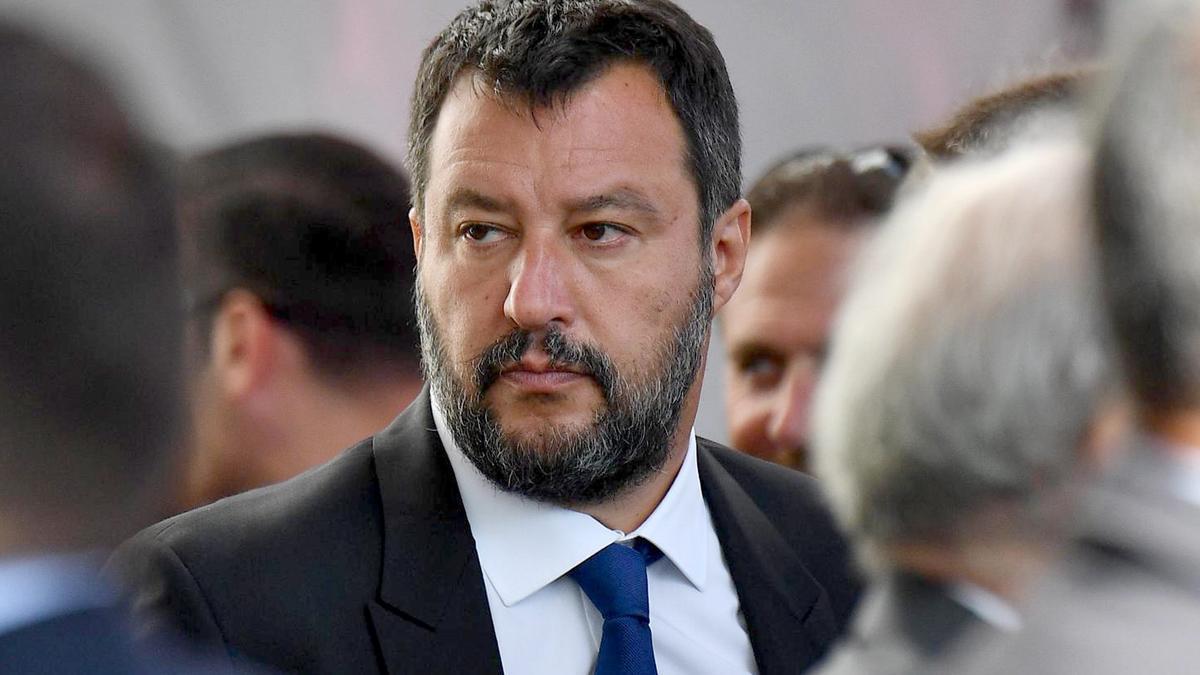 El líder de la ultraderechista Liga y exministro del Interior, Matteo Salvini.