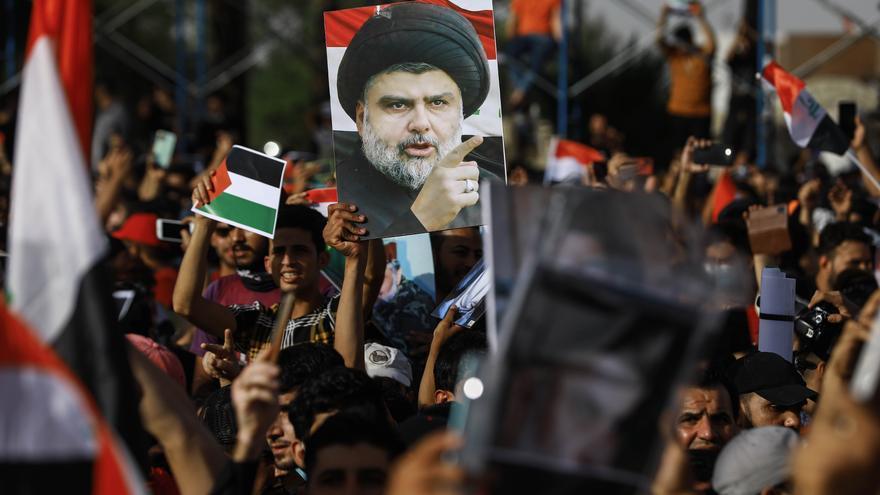 El partido del clérigo Muqtada al Sadr se declara ganador de las elecciones en Irak
