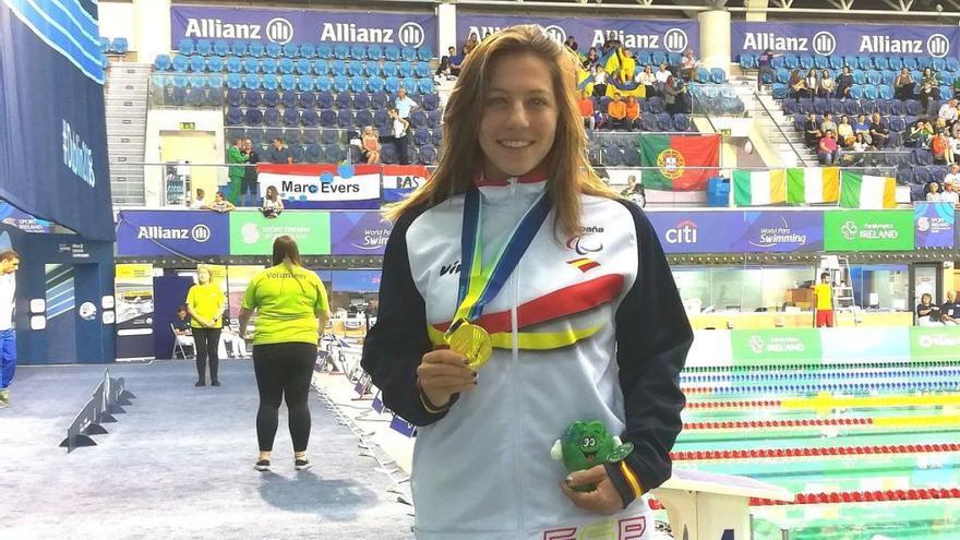Núria Marquès obté la primera medalla d'or als europeus de Dublín