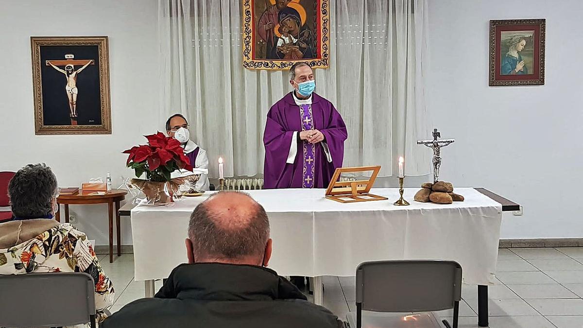 El obispo felicita la Navidad a los colectivos más vulnerables
