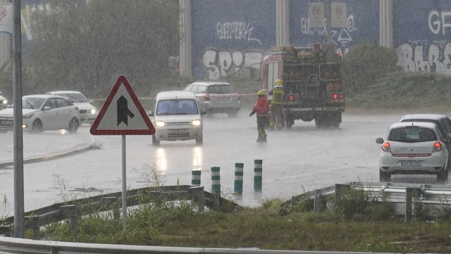 Activat el pla Inuncat aquesta tarda per pluges fortes a les comarques gironines