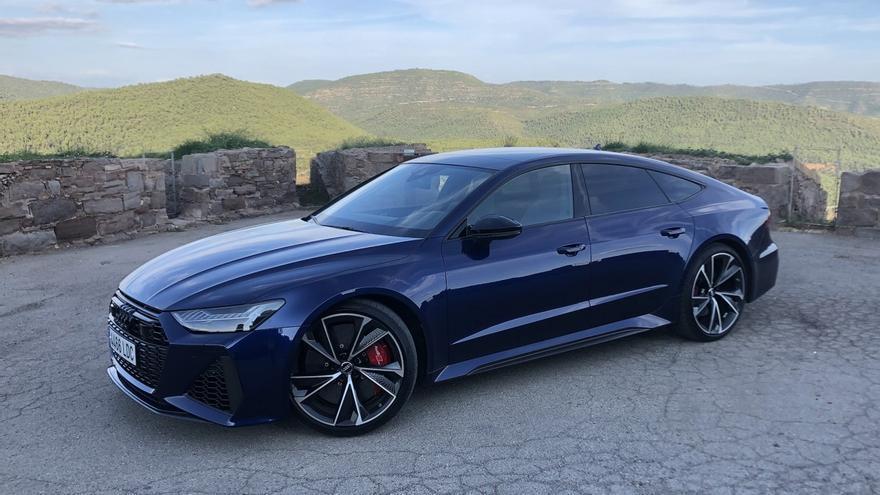 Prueba del Audi RS 7, elegancia radical
