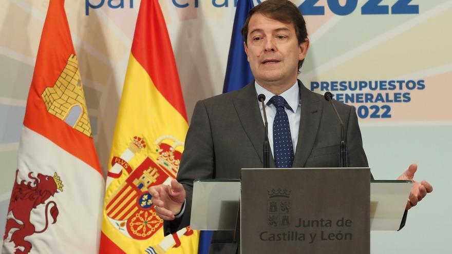 """Mañueco advierte de que la reunión sobre financiación no está dirigida a """"hacer un frente común"""" ni al """"frentismo"""""""