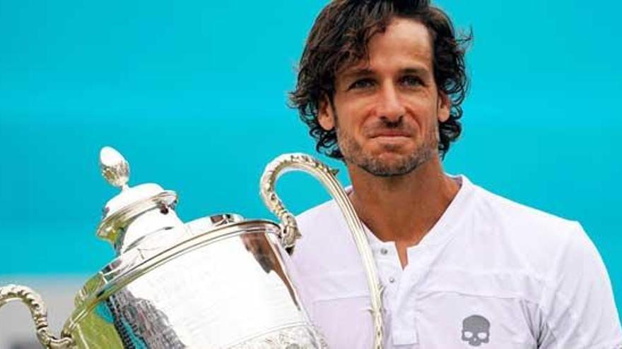Feliciano López brilla para repetir triunfo en Queen's